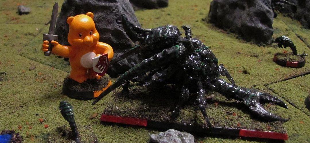 AvG — Aliens vs. Glücksbärchies